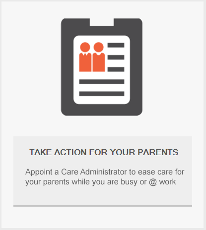 TAKE ACTION FOR YOUR PARENTS